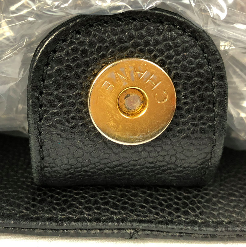 cf79ee2cf Chanel Authentic PST Black Bag with Gold Hardware for Sale UK fastening