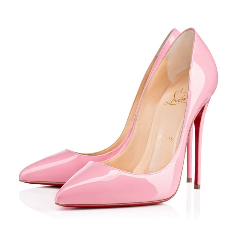 2d23d974dde Handbagholic - Christian Louboutin Rose Light Pink Pigalle Follies UK 5 EU  38 high heels