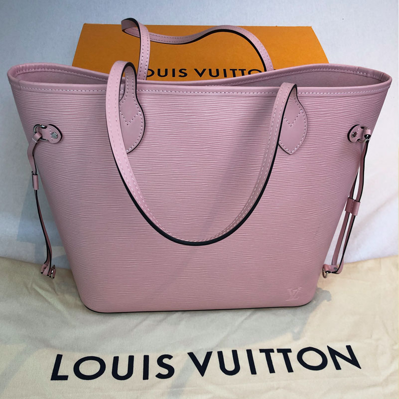 11b57f26327 Louis Vuitton Neverfull MM EPI Pink with Pouch - Handbagholic