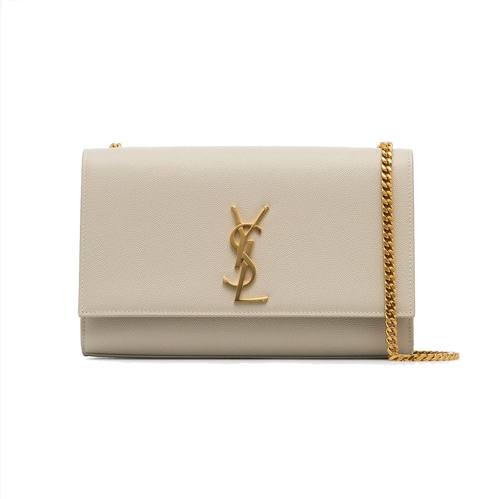 55cef7dd0a3 saint laurent ysl kate bag medium in nude powder with gold hardware authentic  second hand