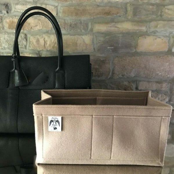 Bayswater Luxury the best bag Liner for Designer Handbag Handbagholic beige