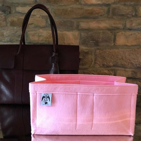 Bayswater Luxury the best bag Liner for Designer Handbag Handbagholic pink