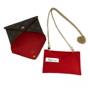 Louis Vuitton Kirigami Medium Pouch Set Handbag Liner Conversion Kit Make Into Shoulder Bag Handbagholic