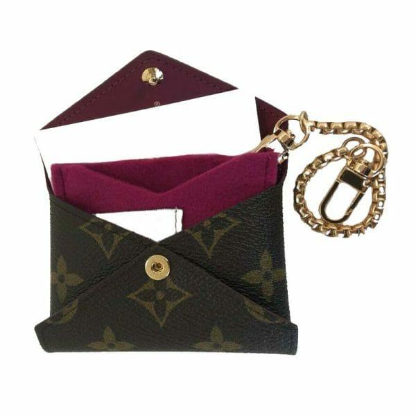 Louis Vuitton Kirigami Small Pouch Set Handbag Liner Conversion Kit Make Into Bag Charm Keyring Handbagholic purple