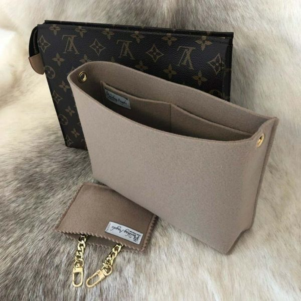 louis vuitton toiletry pouch 26 conversion kit handbag liner to shoulder bag