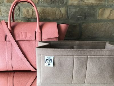 mulberry bayswater with strap luxury handbag beige liner organiser protect lining