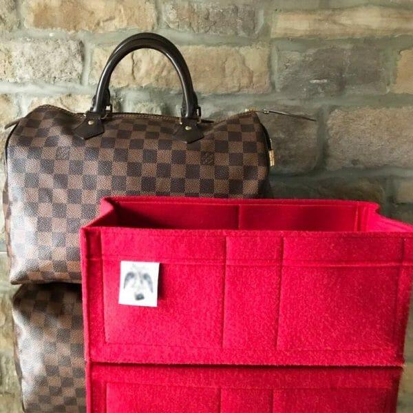 louis vuitton speedy 25 handbag liner organiser the best felt handbagholic