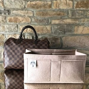 louis vuitton speedy 35 beige handbag liner organiser the best felt handbagholic