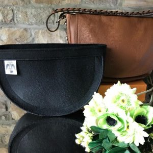 Black Mulberry Daria Satchel handbag Liner for Designer Handbags Handbagholic