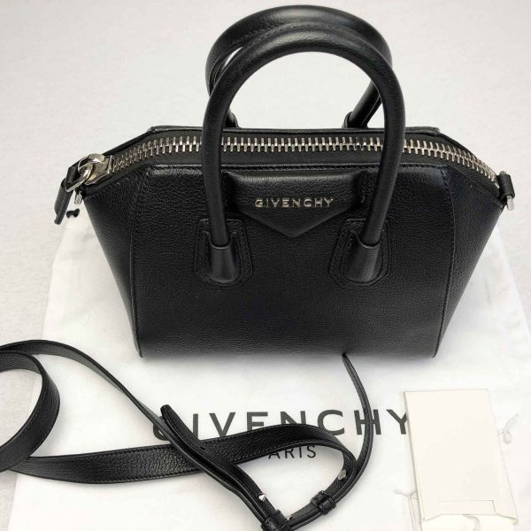 Givenchy Antigona Mini Calf leather bag black handbagholic bag 2
