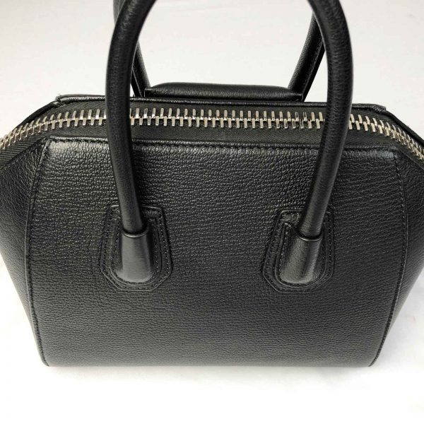 Givenchy Antigona Mini Calf leather bag black handbagholic bag back