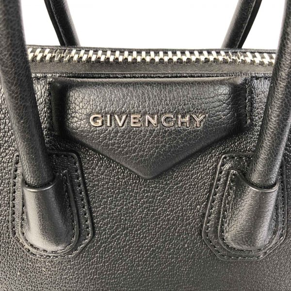 Givenchy Antigona Mini Calf leather bag black handbagholic bag logo