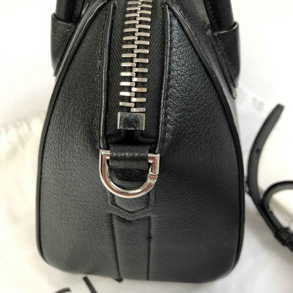 Givenchy Antigona Mini Calf leather bag black handbagholic bag side