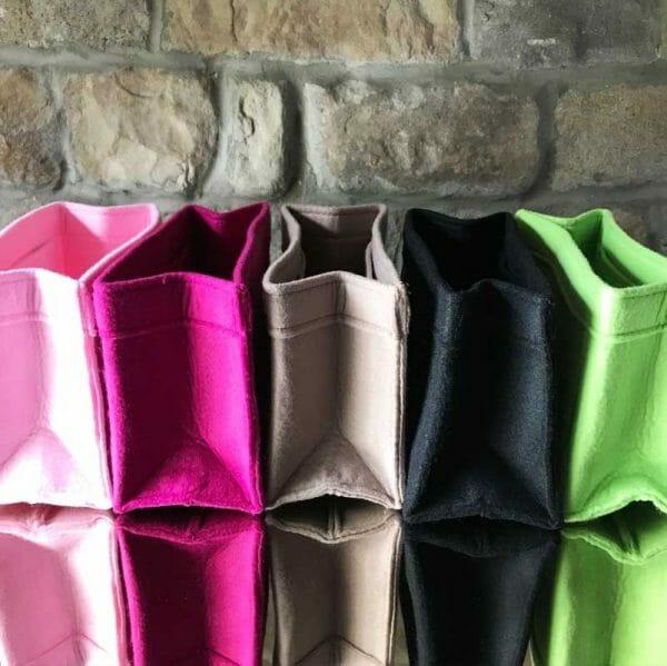 Mulberry Mini Zipped Bayswater colours organse handbag Liner for Designer Handbags Handbagholic