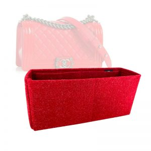 Chanel Medium BOY Old Style Bag handbag liner protector organiser insert handbagholic Zoomoni