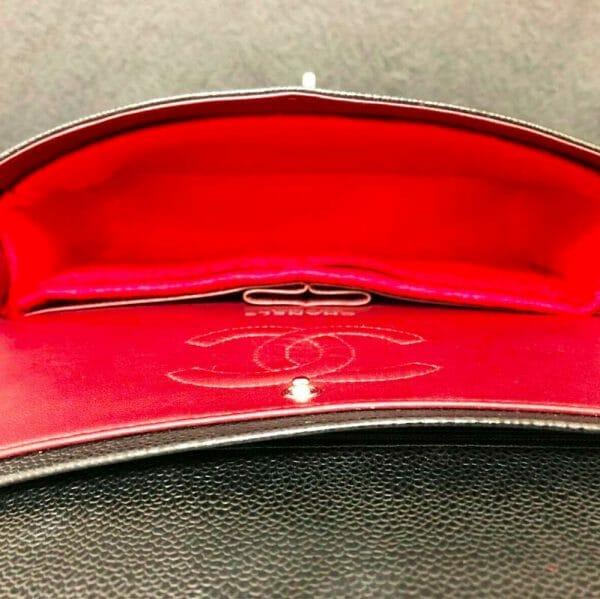 Chanel Medium Classic Flap handbag liner protector organiser insert handbagholic