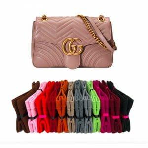 Gucci Medium Marmont Flap handbag liner protector organiser insert handbagholic
