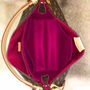 Louis Vuitton Graceful MM handbag liner protector organiser insert handbagholic inside bag