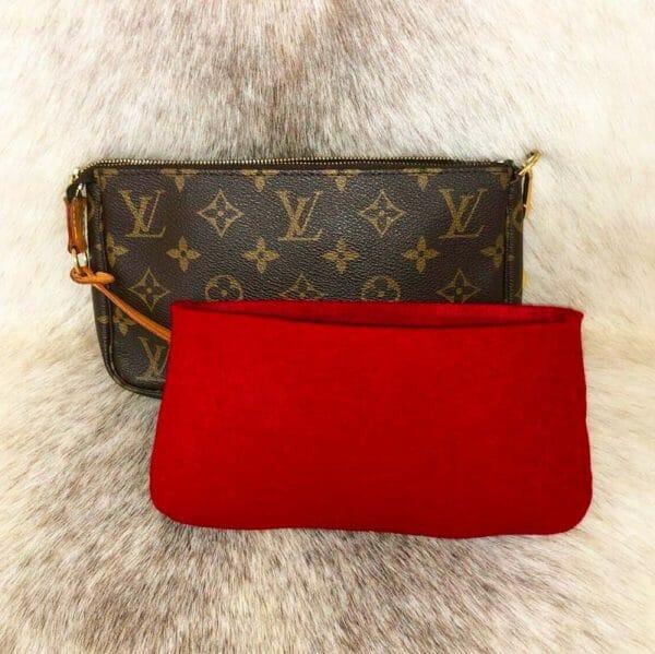 Louis Vuitton Pochette Accessories New Model handbag liner protector organiser insert handbagholic
