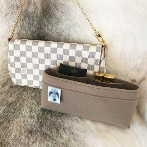 Louis Vuitton favourite MM designer handbag liner organiser