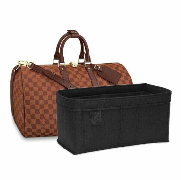 Louis Vuitton keepall 45 Handbag Liner Felt handbagholic uk black