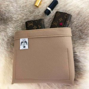 Mulberry Antony Cross Body Bag Liner Insert Organiser nude teddy