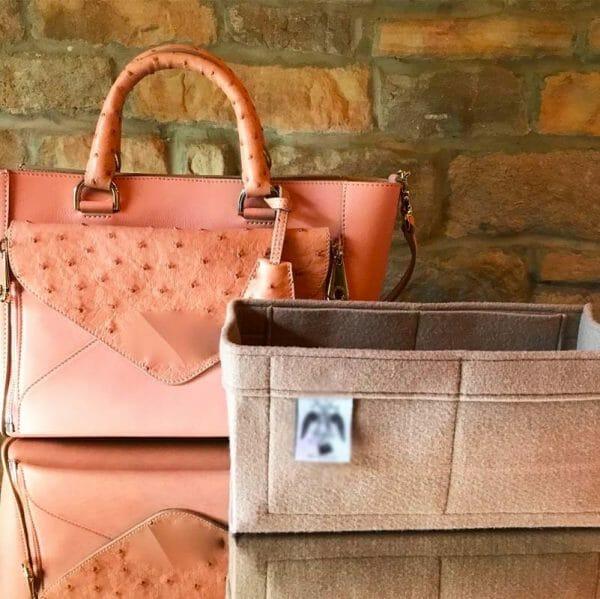 Mulberry Small Willow Tote Bag Handbag Liner Insert Organiser