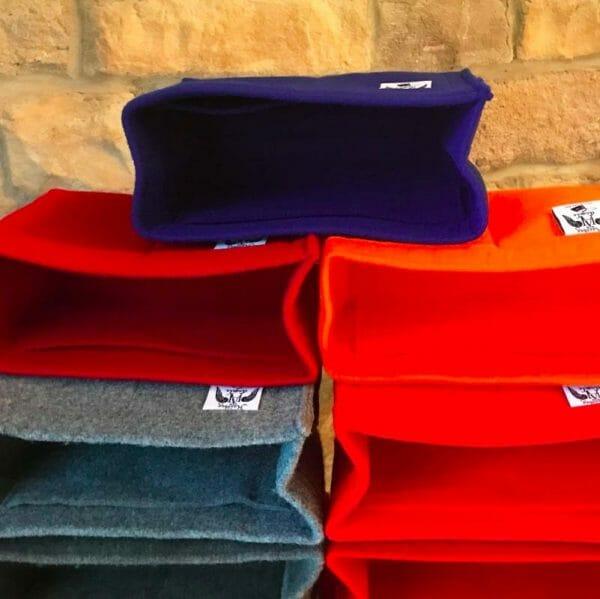 Mulberry mini zipped bayswater handbag liner insert organiser for designer handbag red large selection of colours