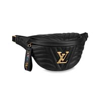 louis vuitton M53750 LOUIS VUITTON NEW WAVE BUMBAG black monogram handbagholic 200x200px
