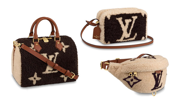 louis vuitton teddy collection fall winter 2019 review on handbagholic limited edition shearling bags