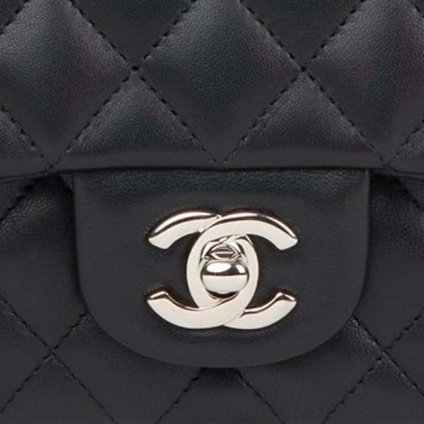 Chanel Mini Rectangle Bag Hardware CC Clear Protectors to Stop Scratches