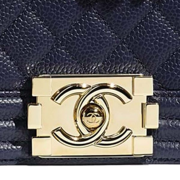 Chanel New Medium Le Boy Bag Hardware CC Clear Protectors to Stop Scratches