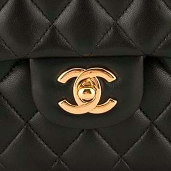 Chanel Small Classic Flap Bag Hardware CC Clear Protectors to Stop Scratches