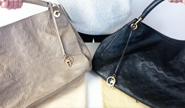 Louis Vuitton Artsy Bag Replica Vs Real Authentic Comparison How to Authenticate