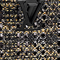 Louis Vuitton Capucines Tweed Fabric Material