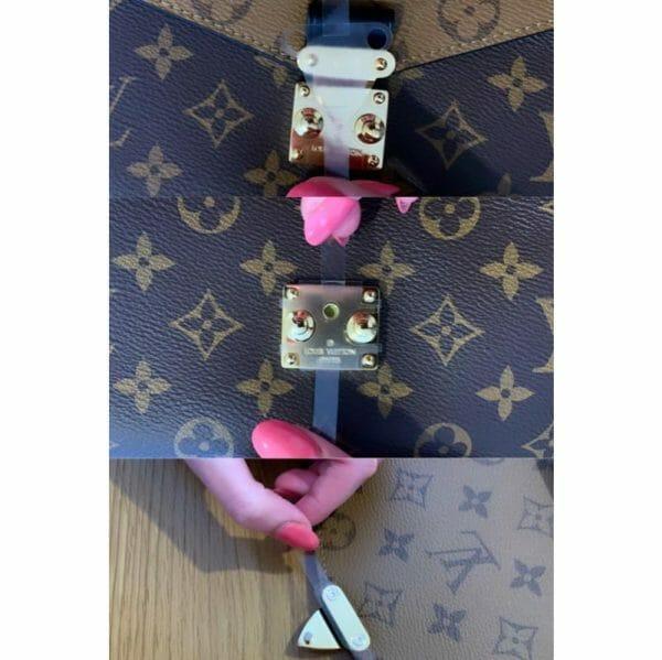 Louis Vuitton Pochette Metis Hardware Protectors three protectors