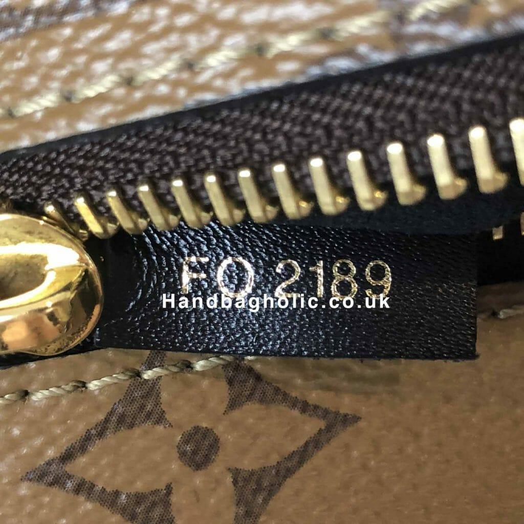 Louis Vuitton Pochette Metis Reverse Monogram rare pre loved handbagholic buckle