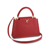 louis vuitton capucines PM Scarlet Red with Gold hardware bag handbag icon handbagholic 200x200px