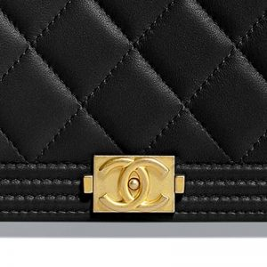 Chanel Boy Long Flap Wallet Hardware CC Clear Protectors to Stop Scratches