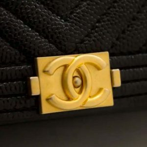 Chanel Boy WOC Wallet On Chain Bag Hardware CC Clear Protectors to Stop Scratches