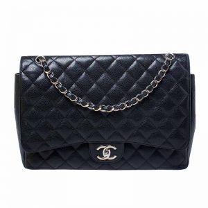 Chanel MAXI Classic Double Flap Hardware CC Clear Protectors to Stop Scratches