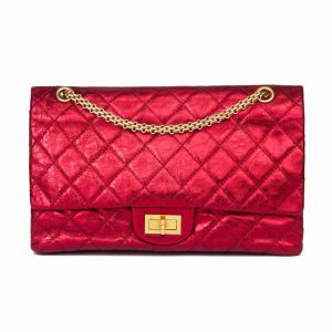 Chanel Reissue 227 Hardware Clear Protectors to Stop Scratches red