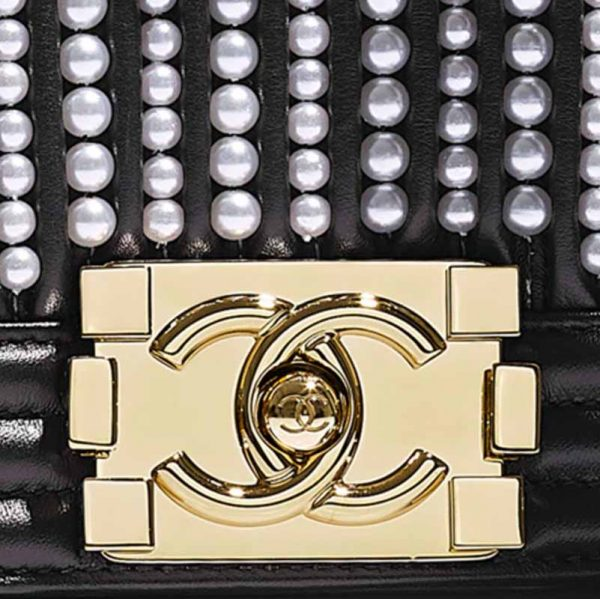 Chanel Small Le BOY Bag Hardware CC Clear Protectors to Stop Scratches