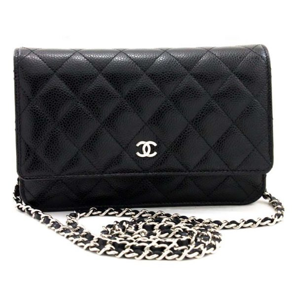 Chanel WOC Wallet On Chain Bag Hardware CC Clear Protectors to Stop Scratching