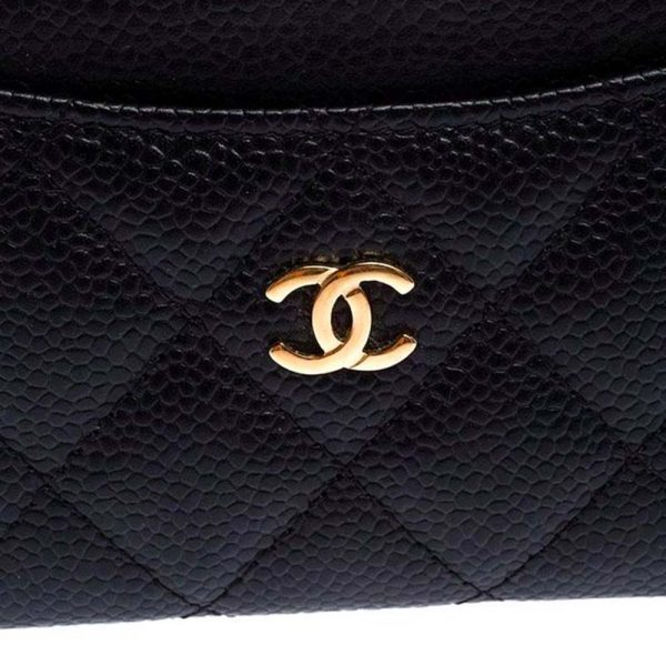 Chanel classic Card Holder Hardware CC Clear Protectors to Stop Scratches