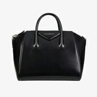Givenchy antigona medium black smooth leather designer bag for work handbag icon handbagholic 200x200px