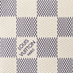 Louis Vuitton LV Damier Azur Canvas Close Up How to care for