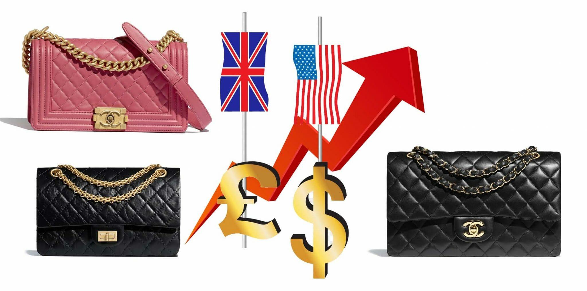 Chanel Bag Price Increase 2020 UK and US