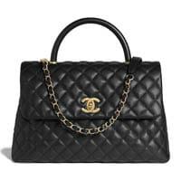 Chanel Large Top Handle bag thumbnail handbagholic 200x200px