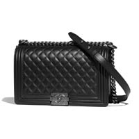 Chanel large boy bag thumbnail handbagholic 200x200px